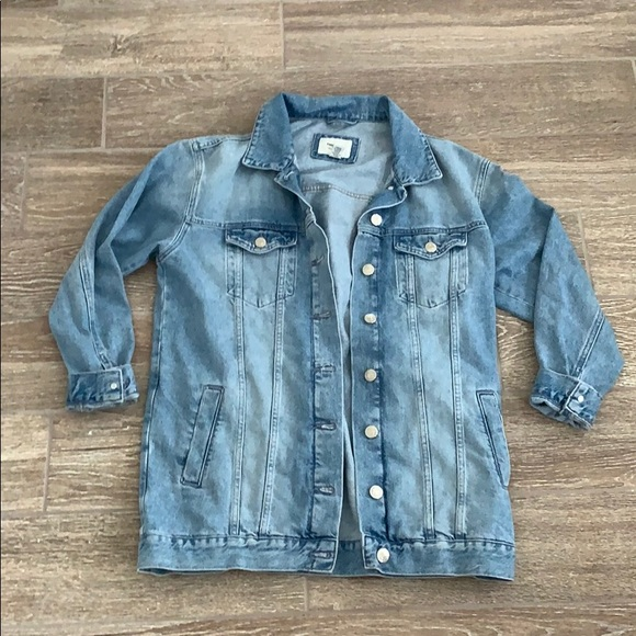 for sale distinctive style various styles forever 21 extra long denim jacket